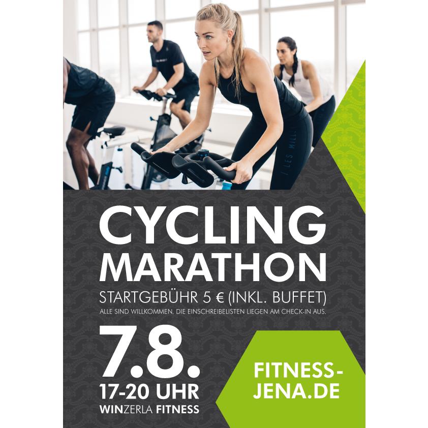 HIGHLIGHT: 7. August 2018: CYCLING MARATHON im WINZERLA FITNESS