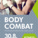 BODY COMBAT am 30.8./NEUE MITTE FITNESS