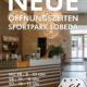 Neue Öffnungszeiten im Sportpark Lobeda ab 02.03.2020